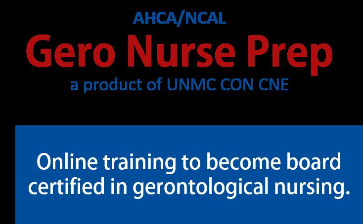 Gero Nurse Prep Download Material - AHCA/NCAL Gerontological Nurse ...